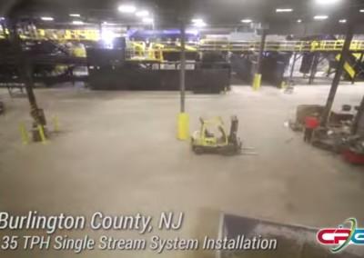 Burlington County MRF Installation