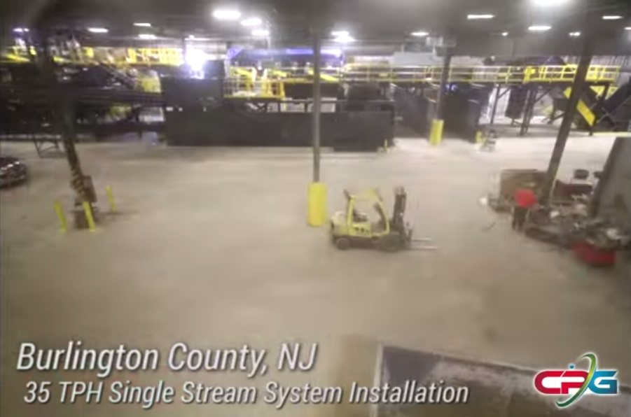 Burlington County MRF Installation