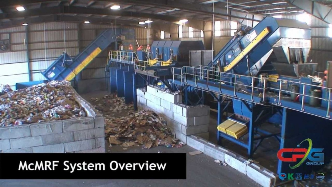 CP Group McMRF® – Small Material Recovery Facility