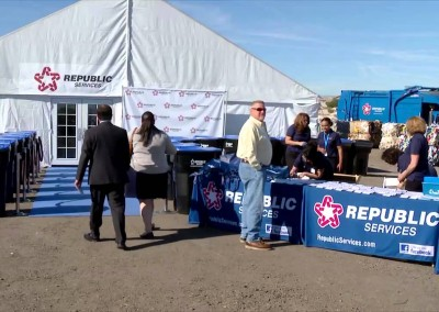 Republic Las Vegas Recycling Center Groundbreaking Ceremony