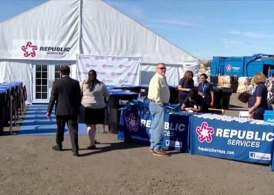 Republic Las Vegas Recycling Center Groundbreaking Ceremony