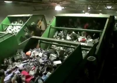 70TPH Single Stream Recycling System