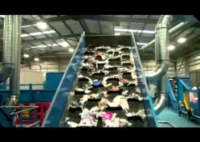 65TPH Single Stream Recycling System