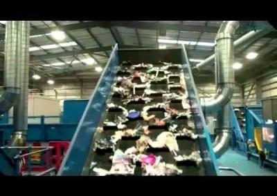 65TPH Single Stream Recycling System