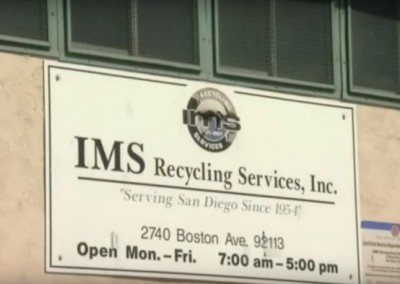 IMS Recycling featured on NBC 7 news in San Diego