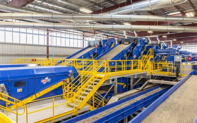 Largest and Smartest Residential Recycling Center in North America