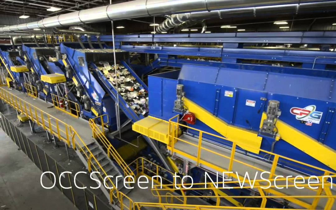 CP NEWScreen for paper and container material separation in MRFs
