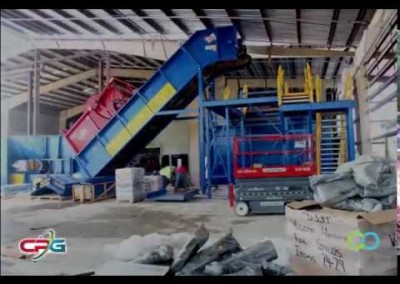 Time-lapse of Scott County Waste Commission Equipment Installation