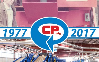 CP Manufacturing celebrates 40 years of excellence in the recycling industry