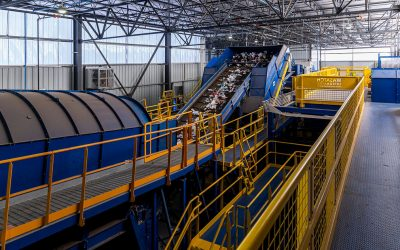 Wasatch Integrated Waste Management District Opens MSW MRF