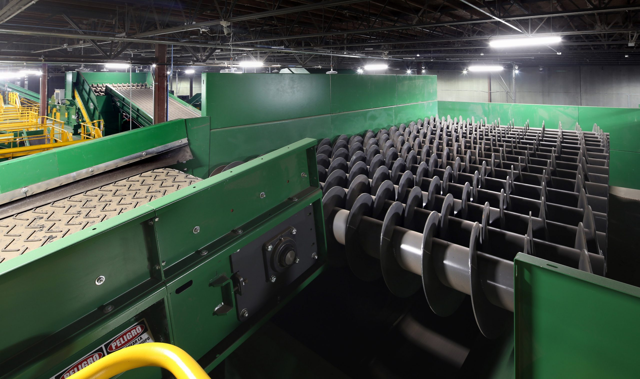Auger Screen at Cal-Waste