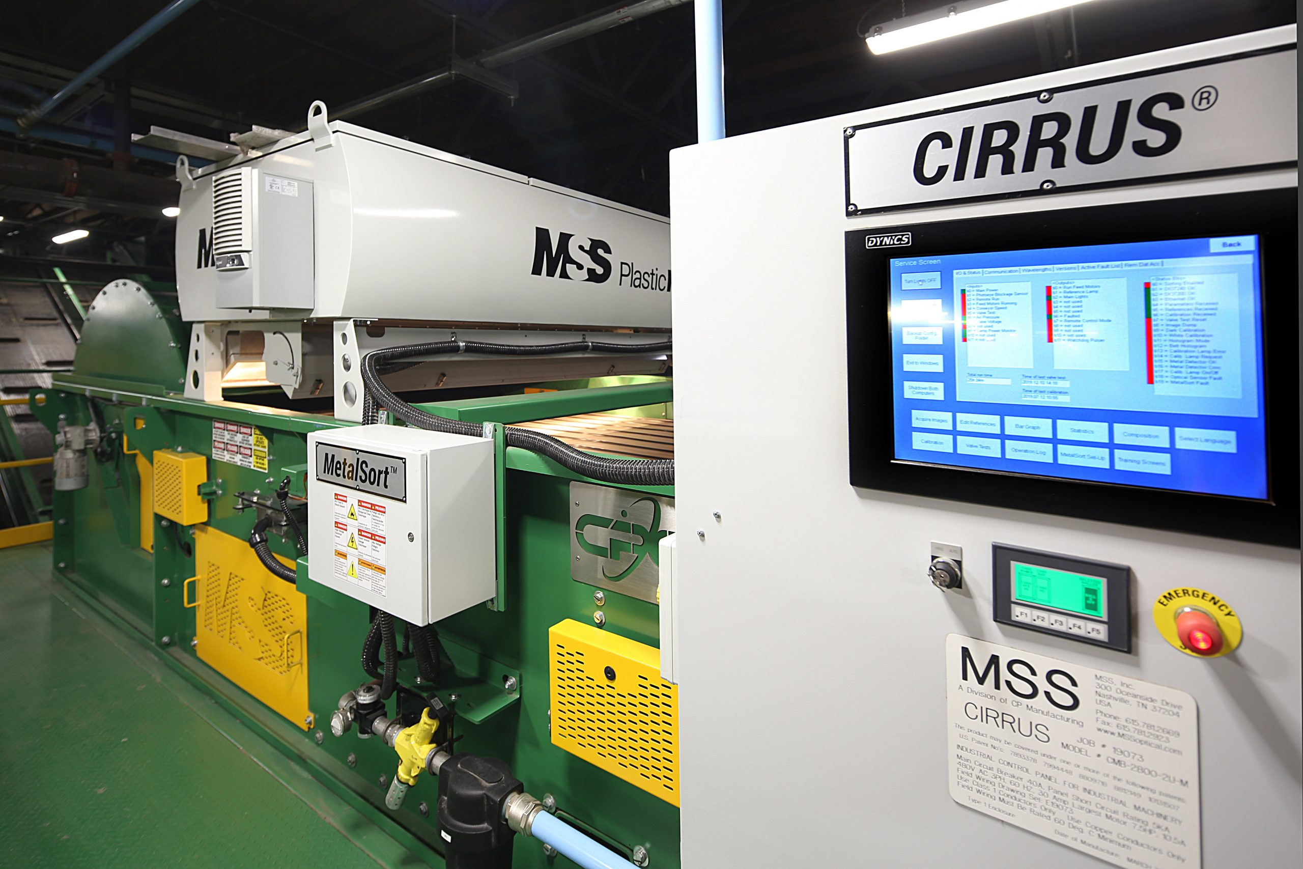 MSS PlasticMax at Cal-Waste