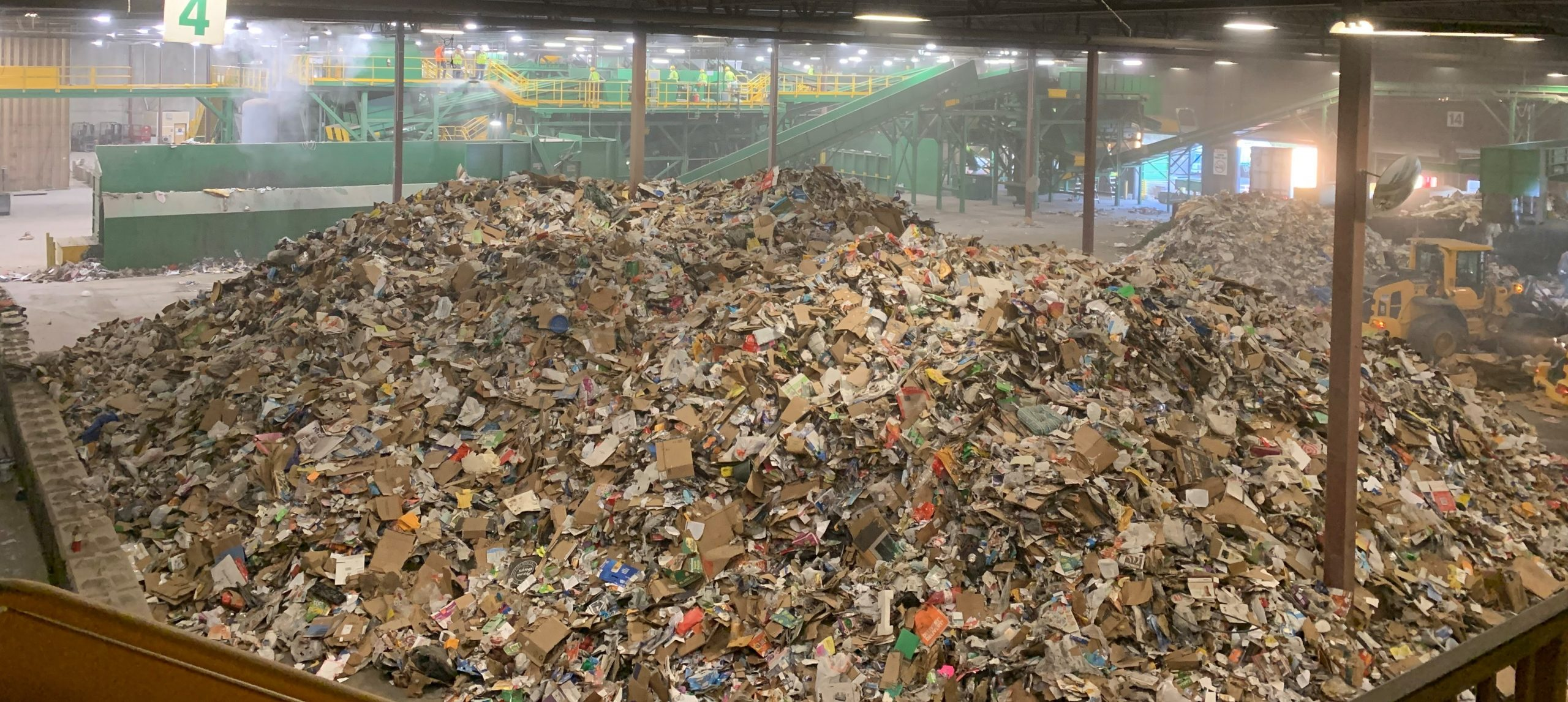 Cal-Waste Tipping Floor